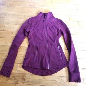 Lululemon Athletica | Maroon Zip Up Sweater Size 4